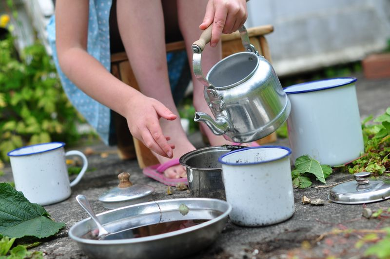 Mud kitchen