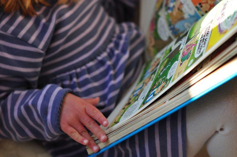 Reading Asterix