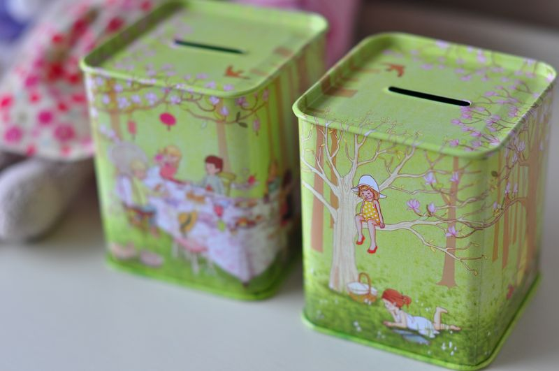 Ava's Tea Party Money Box
