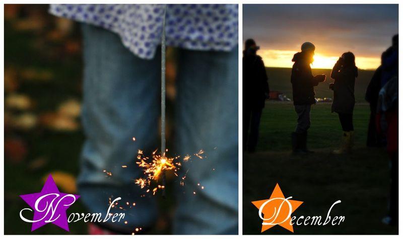 November and December