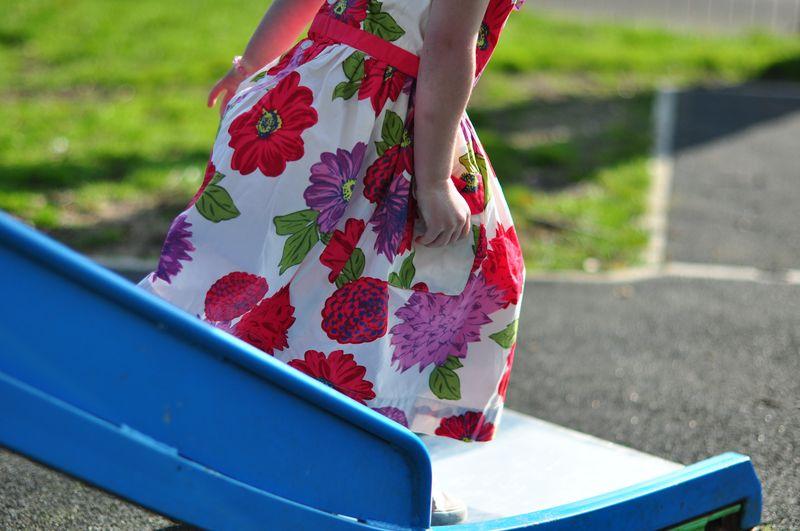 Radish Dahlia print vintage dress mini Boden