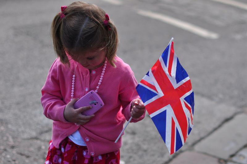 Diamond Jubilee British flag