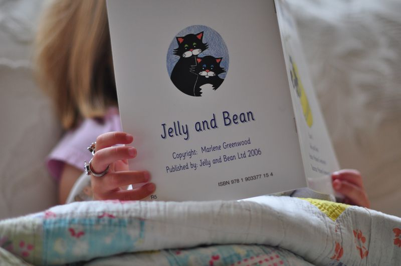 Reading scheme Jelly and Bean